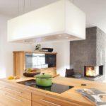 Küche mit einer Novy-Haube