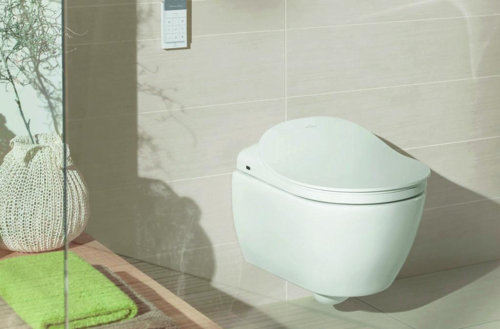 Hightech-Toiletten liegen im Trend
