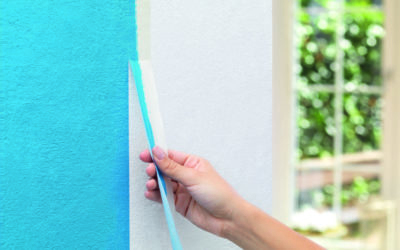 Malerband für saubere Farbflächen