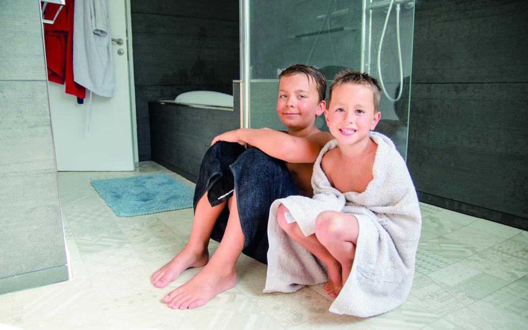Bad mit Fussbodenheizung aufwerten