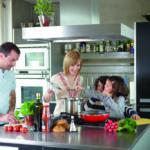 Moderne Küche aus Beton