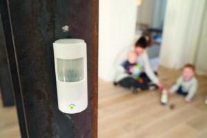Bewegungsmelder im Kinderzimmer (Hausautomation)