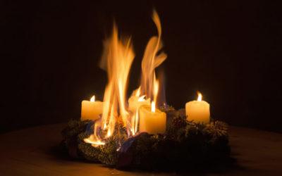 Brandgefahr zur Weihnachtszeit – diese Tipps sollten Sie unbedingt beachten