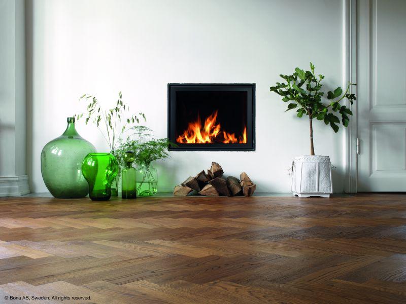Versiegelte Holzfußböden fachgerecht pflegen